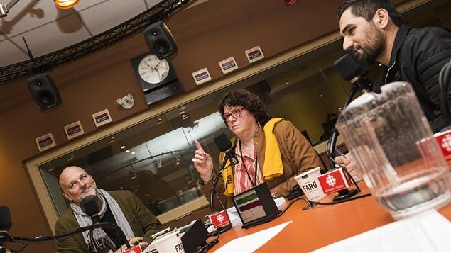 François Audet, Anne Sainte-Marie et Huseyin Akyol