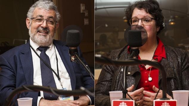 Hassan Guillet et Nathalie Groulx