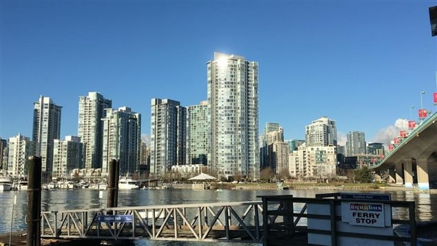 La ville de Vancouver, False Creek.