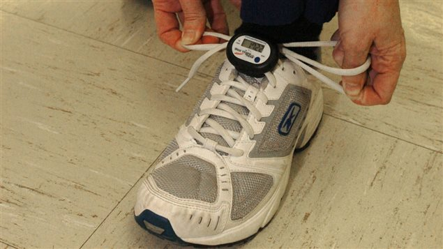 A pedometer and a prescription were found to help patients take more steps every day.