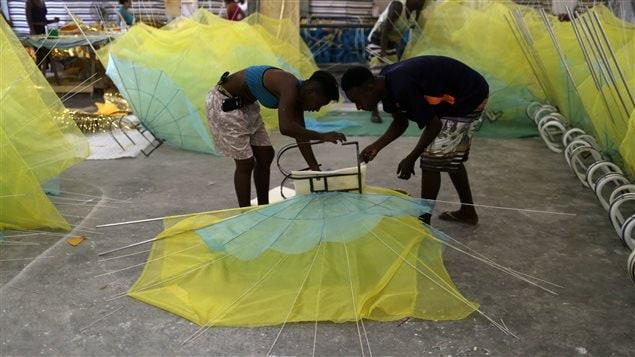 Los participantes dedican todo el año a prepararse para el evento.