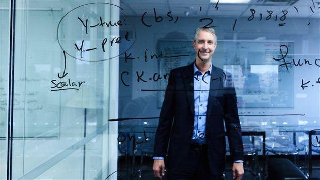 Alexandre Lebouthillier, fondateur de la compagnie Imagia.