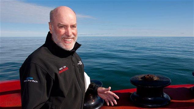 L'océanographe Louis Fortier