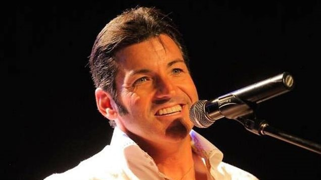 Steeve Desgagnés, qui personifie Elvis Presley