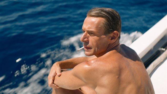 Lambert Wilson dans le rôle de Jacques Cousteau dans le film <em>L'Odyssée</em>