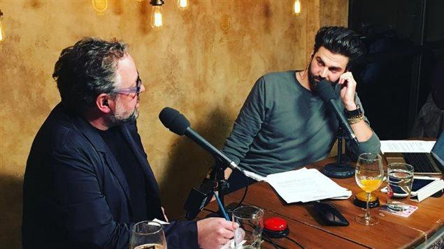Alexandre Taillefer en entrevue avec Jean-Philippe Wauthier