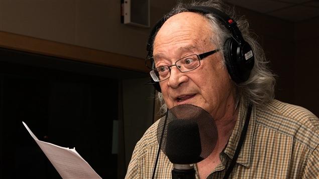 Le poète Raôul Duguay