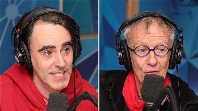 Biz et son père, Jean-Yves Fréchette