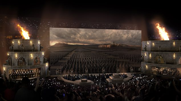 Le spectacle immersif <em>Game of Thrones</em>