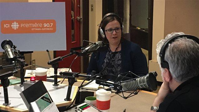 Émilie Taman, candidate néodémocrate dans le comté d'Ottawa-Vanier