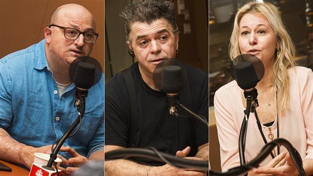 Albert Elbilia, Martin Boyer et Adrianna Kluk