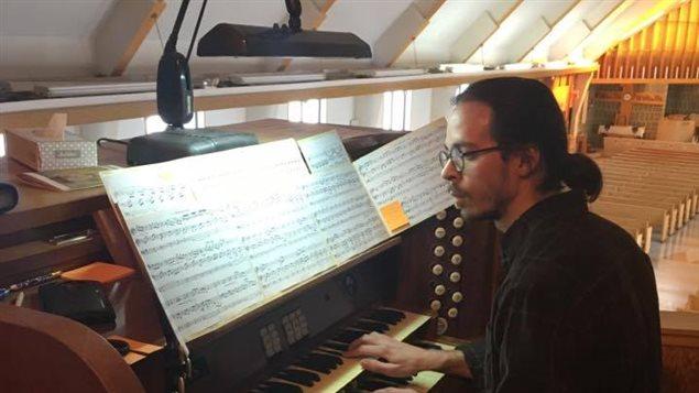 L'organiste septilien Benoit Tremblay-Antoine