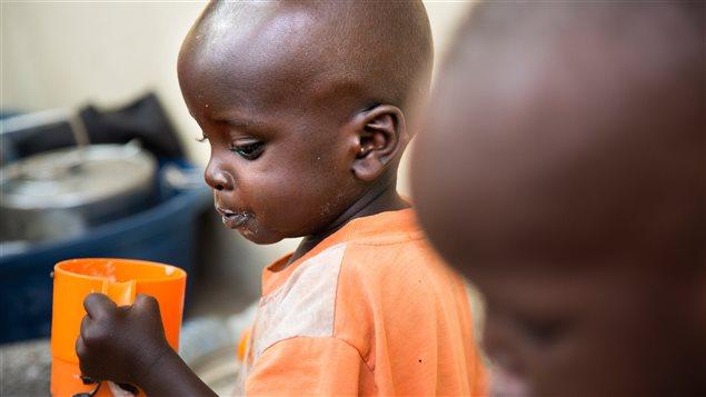 La hambruna amenaza a la infancia en Nigeria, Somalia, Sudán del Sur y Yemen.