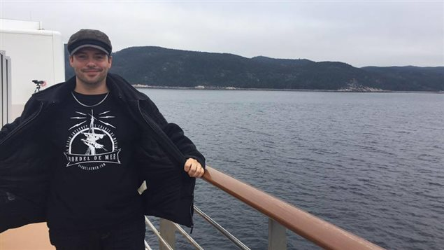 Le Matanais Pierre-Luc Morin prendra part à l'aventure du Rendez-vous 2017 de la course des grands voiliers entre Québec et Halifax en juillet.