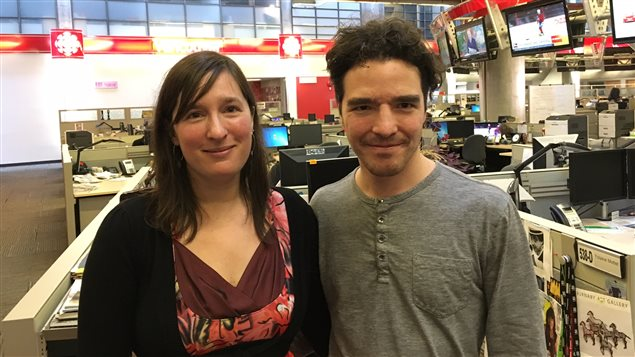 Mélisande Gélinas-Fauteux et Alexandre 'Moulin' De Grosbois-Garand