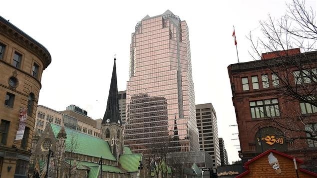 La tour KPMG à Montréal