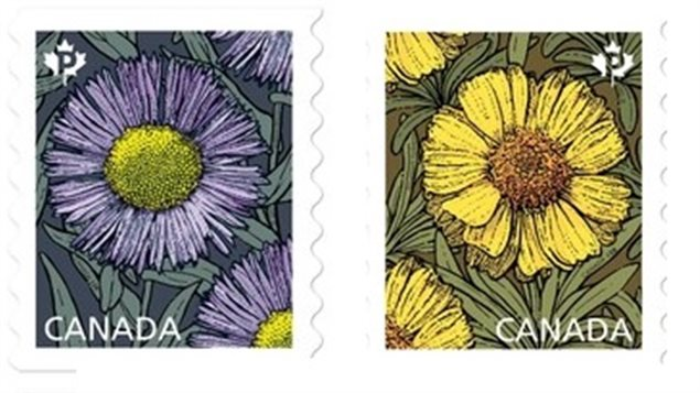 Canada Post spring stamps for 2017