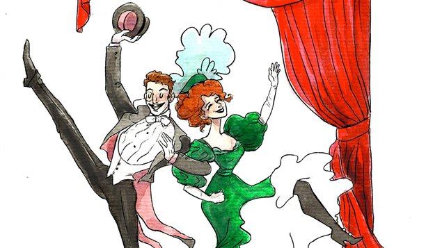 Afiche du spectacle Poperetta de l'Atelier lyrique de l'Opéra de Montréal