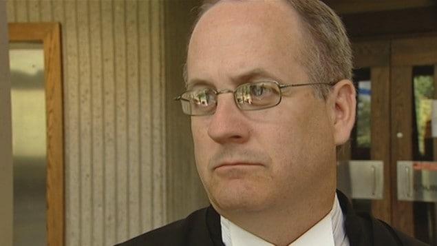 Le juge Greg Lenehan en 2009 à l'époque où il était procureur de la Couronne.