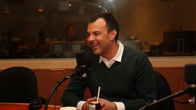Le réalisateur français François Ozon au micro de Médium Large