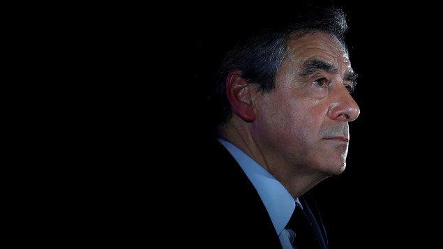 Le candidat François Fillon