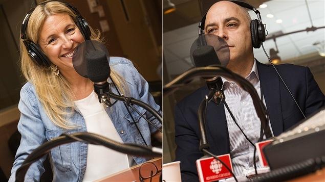 Sonia Lupien et Stéphane Guay