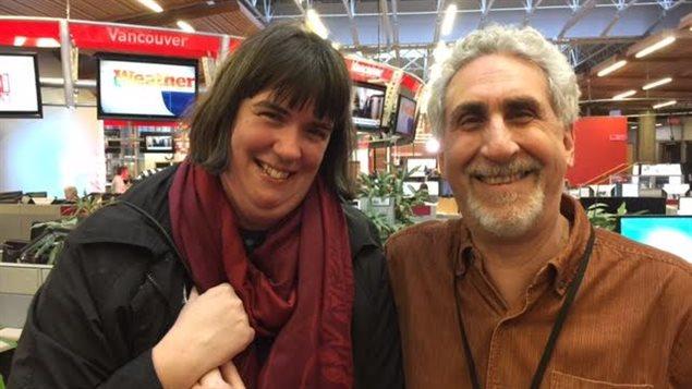 Moshe Denburg et Melanie Thompson du Vancouver Intercultural Orchestra.