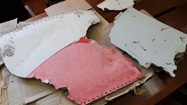 Des débris du vol MH370 de Malaysia Airlines, disparu le 8 mars 2014