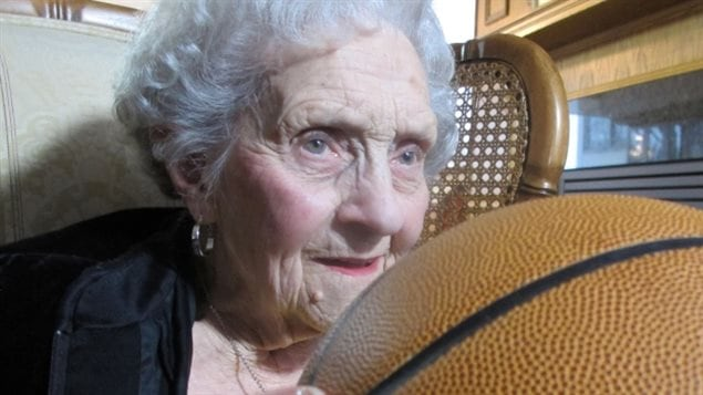 It's still with me,' says Kay MacBeth, decades after she was on the court with the Edmonton Grads basketball team. 'It's in my heart.'
