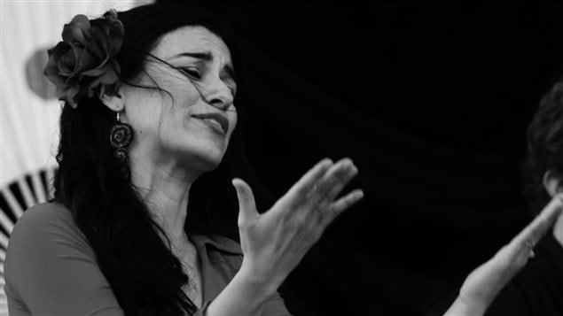 Stephanie Pedraza, cantaora y bailaora.