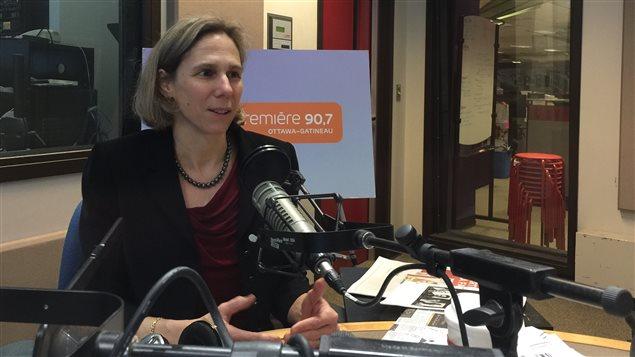 Jennifer Quaid, professeure à la Faculté de droit à l'Université d'Ottawa