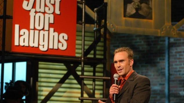 L'humoriste Derek Seguin