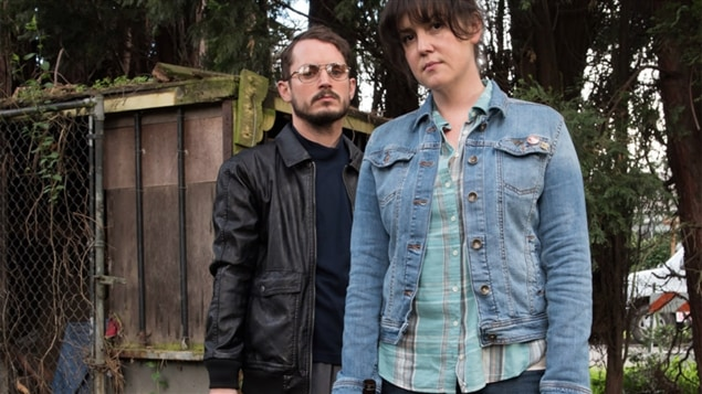 Elijah Wood et Melanie Lynksey dans <i>I Don't Feel at Home in This World Anymore</i> de Macon Blair