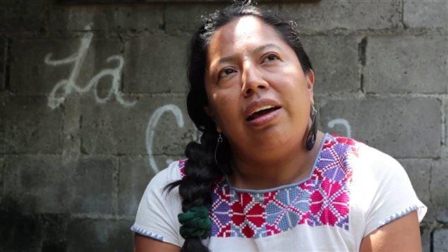 Lorena Cabnal, de la Red de sanadoras ancestrales del feminismo comunitario desde Iximulew-Guatemala.