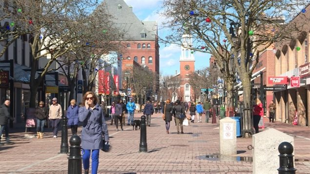Church Street, the brick pedestrian street in Burlington, Vermont, has long been a destination for Canadian shoppers, but many merchants and officials in the state fear a drop in traffic because some Canadians are being turned back at the border.