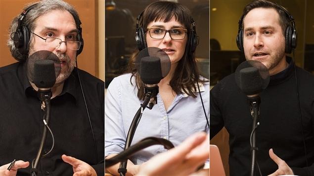 Georges Privet, Julie Dufort et Jean-Philippe Cipriani