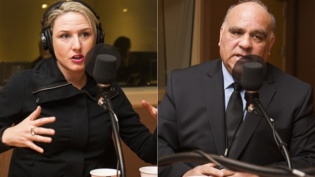 Pascale Lévesque et Gary Frost