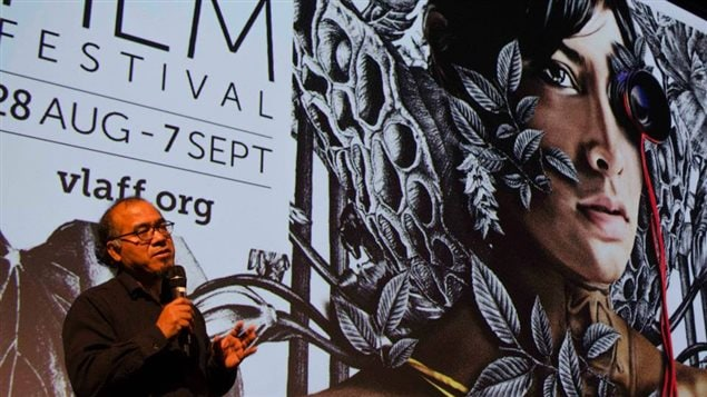 Raúl Gatica en el Festival de Cine Latinoamericano de Vancouver.