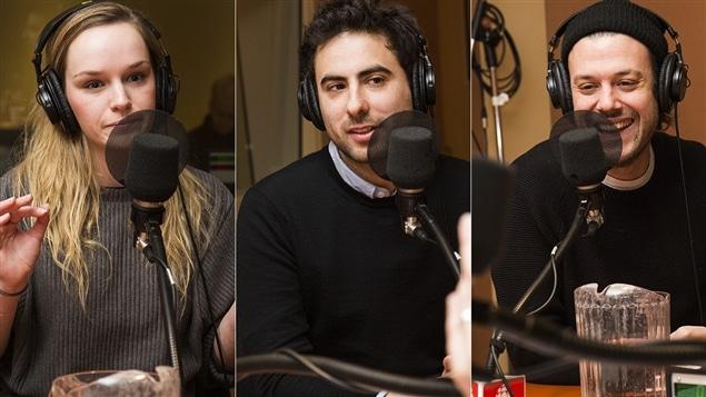 Sarah Anne Parent, François Jaros et Mickaël Gouin