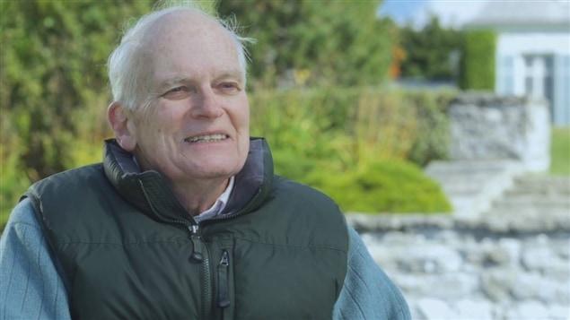 Frank Cabot dans le documentaire <i>Le jardinier</i>, de Sébastien Chabot