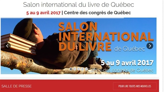 La programmation du salon international du livre de qu bec for Salon du livre 2017