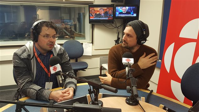 Philippe-David Gagné et Philippe Belley