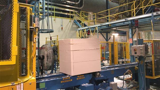 L'usine Tembec de Matane produit de la pâte de papier destinée majoritairement aux marchés européen et asiatique.