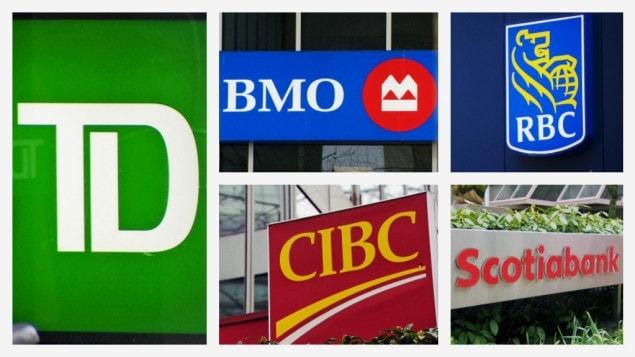 Des banques Canadiennes.