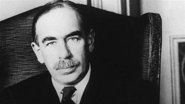 L'économiste John Maynard Keynes