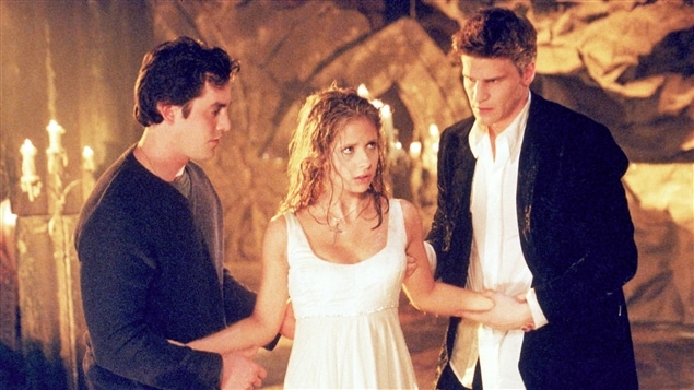 Sarah Michelle Gellar dans la série <i>Buffy the Vampire Slayer</i>