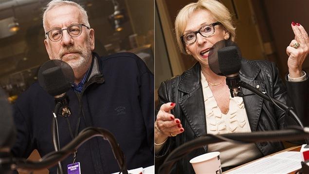 Michel Seymour et Françoise Bertrand