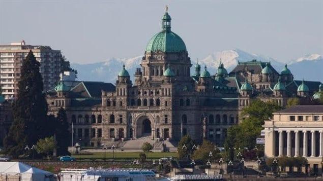 L'édifice du parlement à Victoria