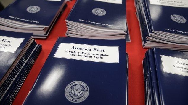 Budget américain pour 2018.