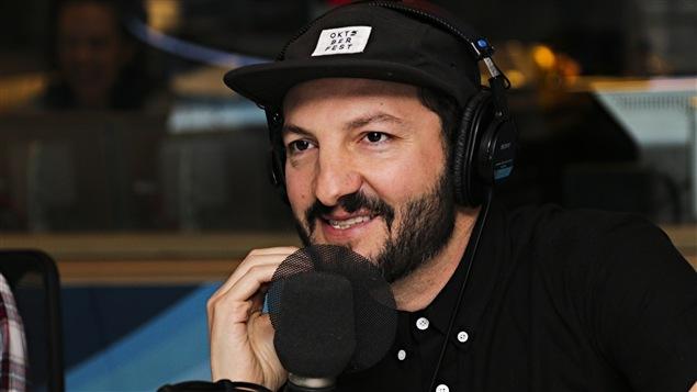 Gabriel Malenfant du groupe Radio Radio